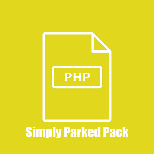 Simply Parked PHP Pack